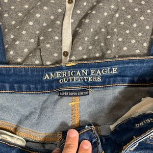 American Eagle Outfitters Jeans - {American Eagle} distressed jeggings long